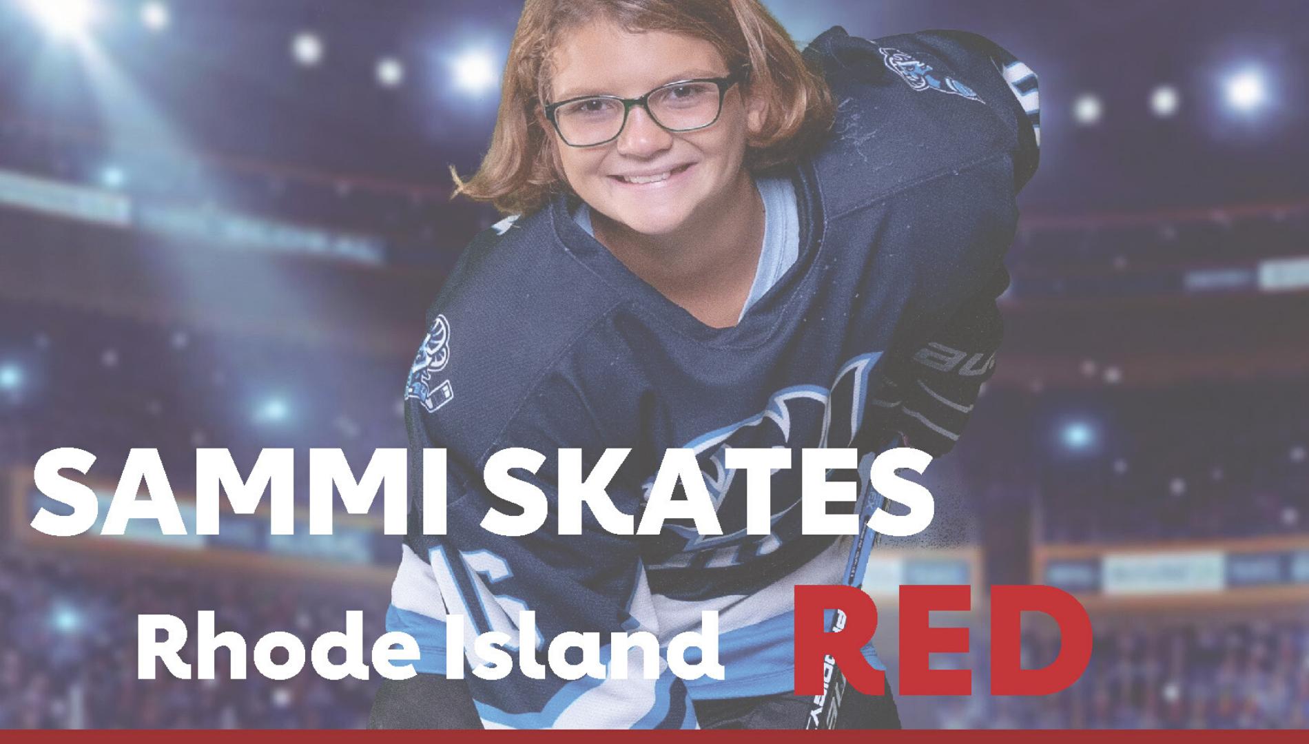 Sammi Skates Rhode Island Red