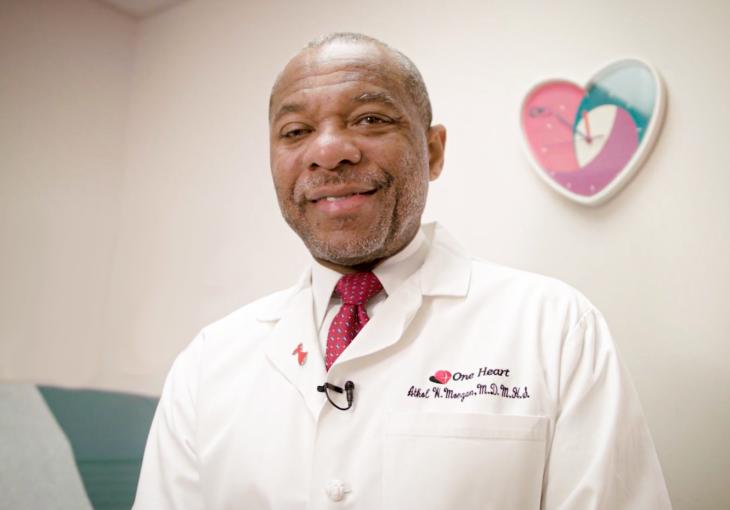 Watkins-Saunders 2020 Awardee: Dr. Athol Morgan